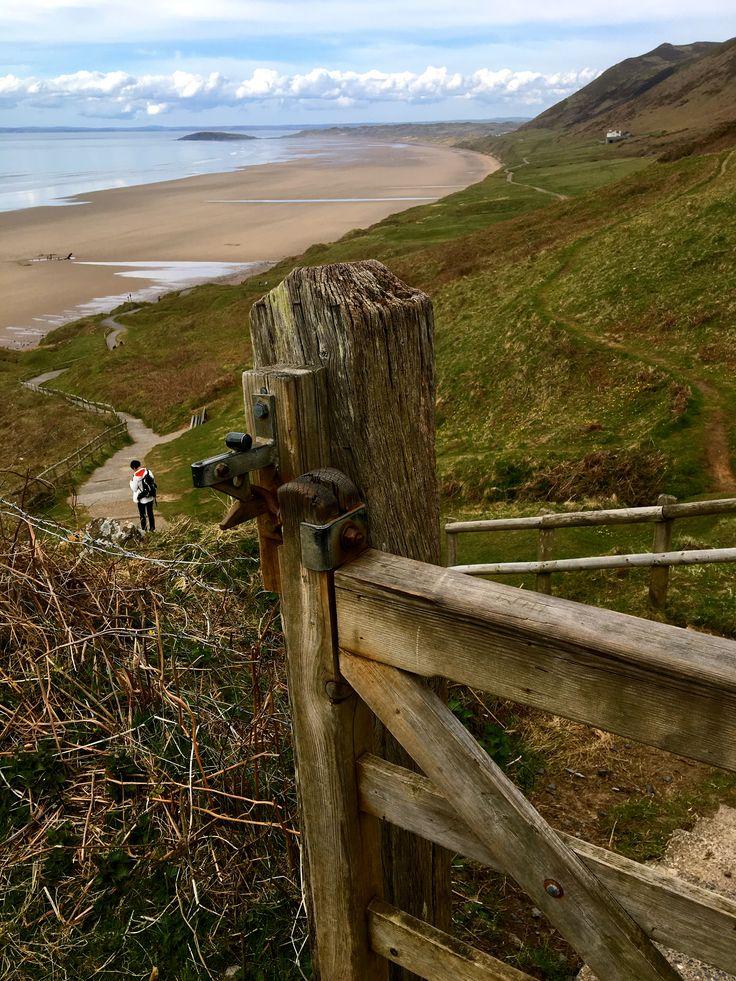 Rhossili Beach Gower Wales 2016