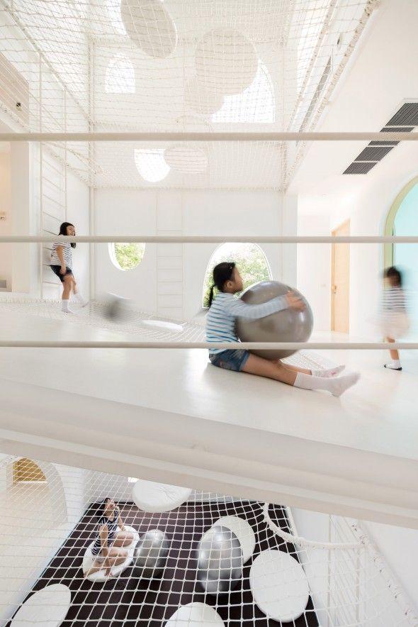 France trampoline inspiration la jerry house réalisée par onion france trampoline réalise