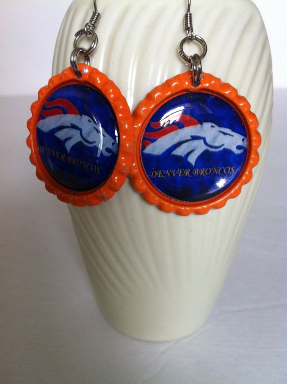 denver broncos earrings denver broncos womens jewelry