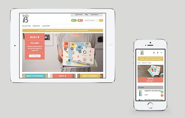 Busy B on Web Design Served