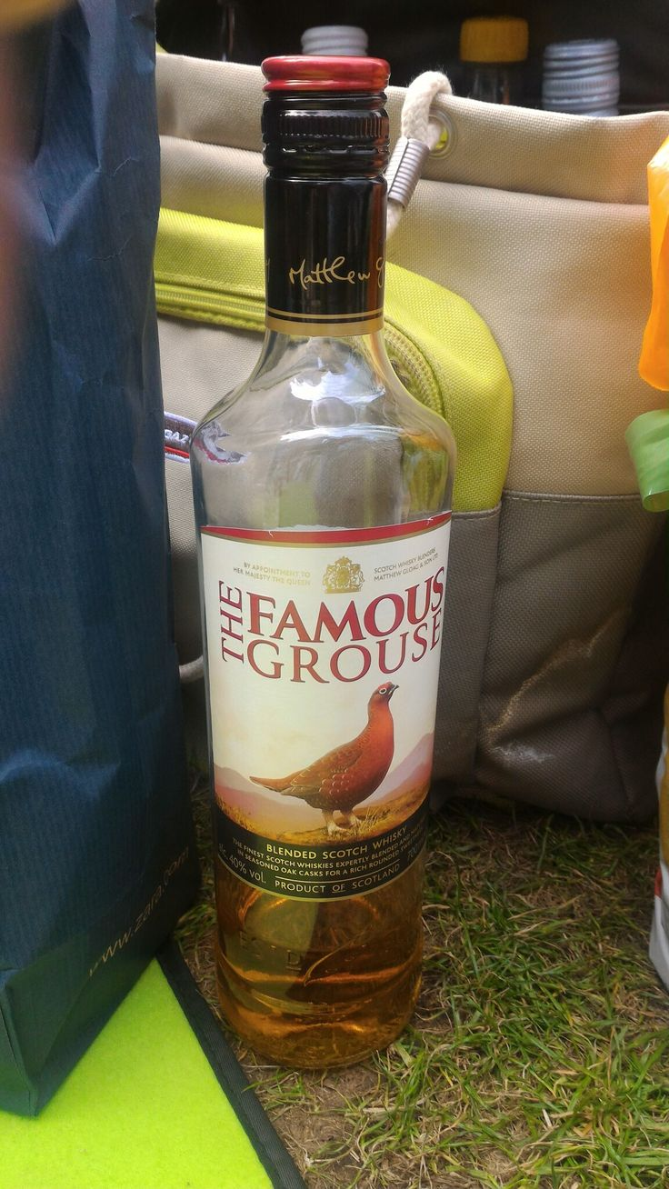 The Famous Grouse, Blended Scotch Whisky, Scotland.