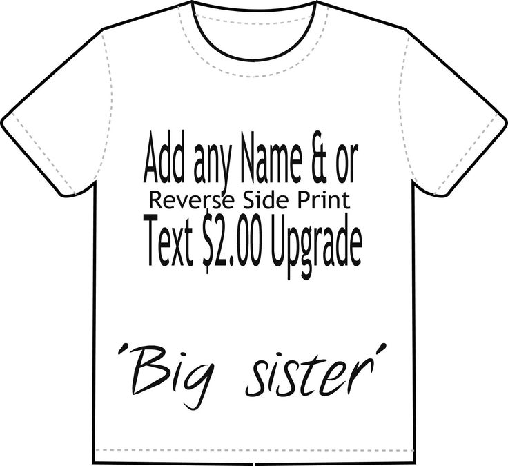 Adults Personalized T-Shirt Upgrade, Add Name Art Shirts, Monogram T-Shirt, Add any Text, Name or Message to your Custom Print shirt by NAESBARGAINBASEMENT on Etsy