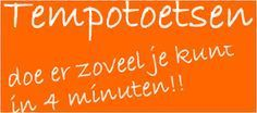 Tempotoets.nl optel-, aftrek-, keer- en deelsommen oefenen