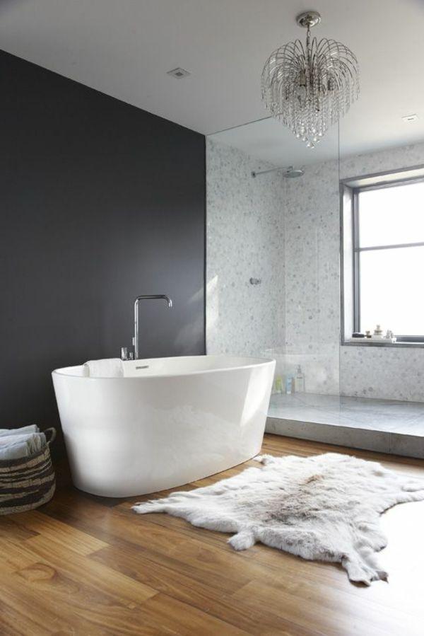 die besten 25 freistehende wanne ideen auf pinterest luxus badewanne holzfliesen und h user. Black Bedroom Furniture Sets. Home Design Ideas