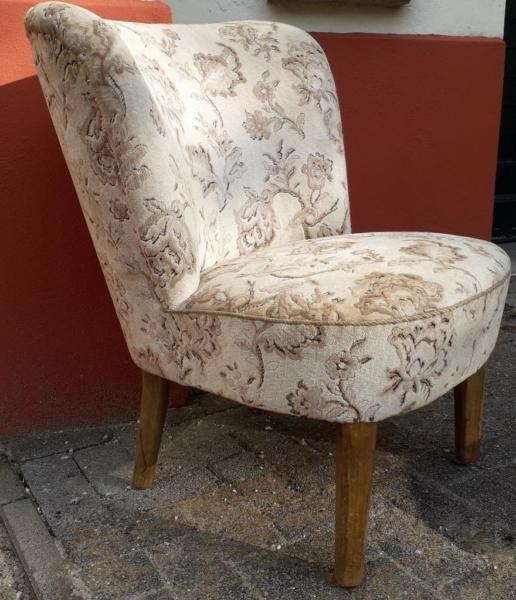 Verkaufe Ein Altes Liebhaberstuck Der Sessel Stammt Vermutlich Aus Den 50er Jahren Vor 50er 60er Orginal Sessel Cocktailses Clubsessel Cocktailsessel Sessel