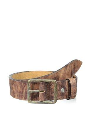 72% OFF Gordon Rush Men's Burnished Belt (Dark Brown)