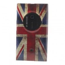 Custodia Nokia Lumia 1020 MiniGel Bandiera UK 01 € 5,99