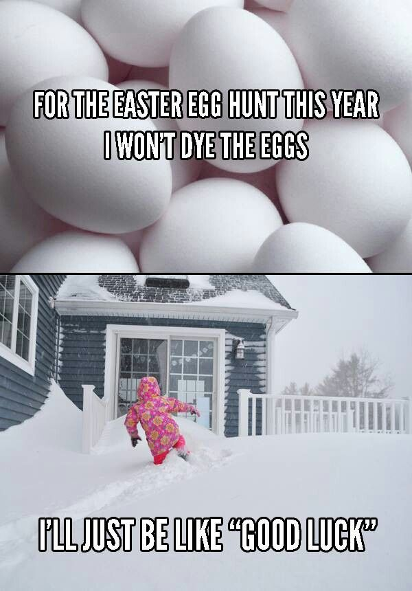 EASTER EGG HUNT THIS YEAR 2014