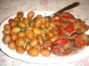 Vacsora tálalás előtt