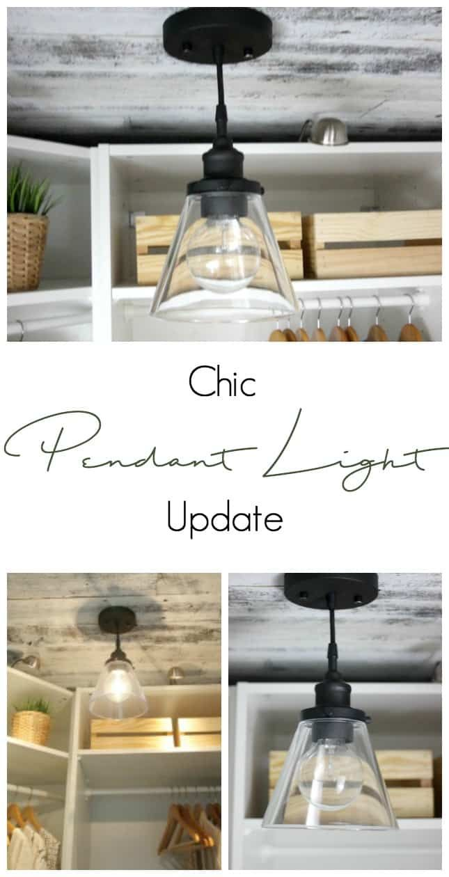 Update a cheap light fixture to get a chic and inexpensive look love the transformation of this fixture