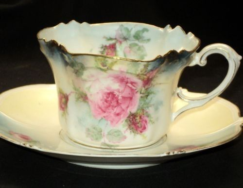 R.S. Prussia Tea Cup and Saucer