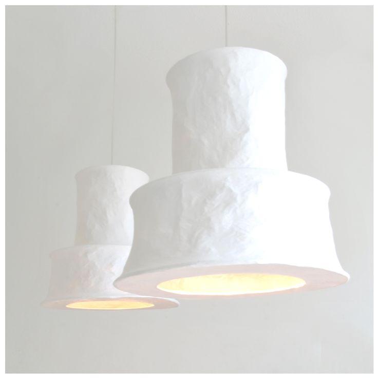 mariekedijkers - papieren lamp 46x46cm 6