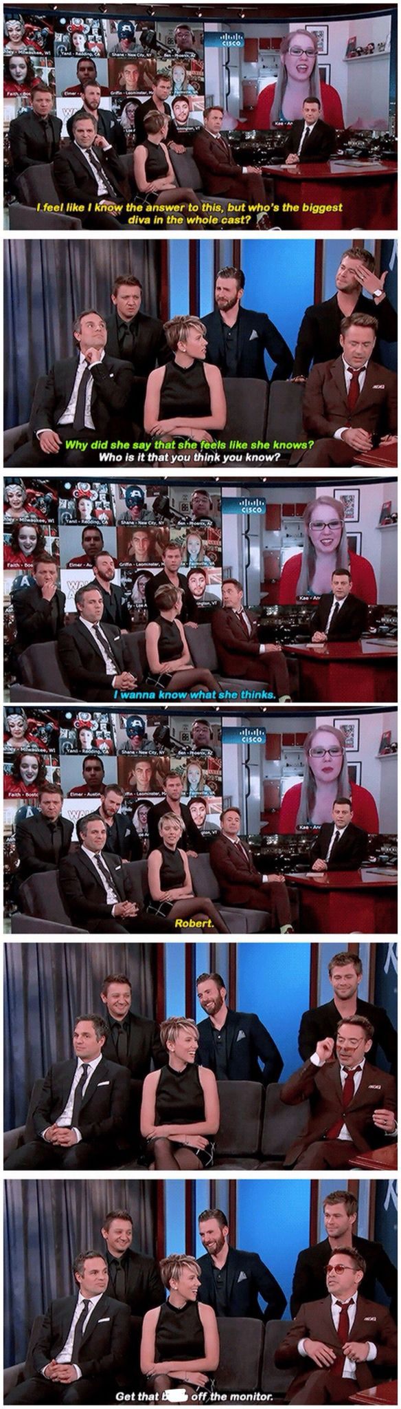 Age of Ultron cast