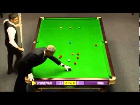 147 Break 2010 Affter potting a red and a black, Ronnie asked what the price for the maximal break is. When he finds out  there is no price, he refused to pot the last black ball.