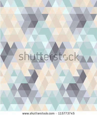 Seamless geometric pattern in pastel tints #1