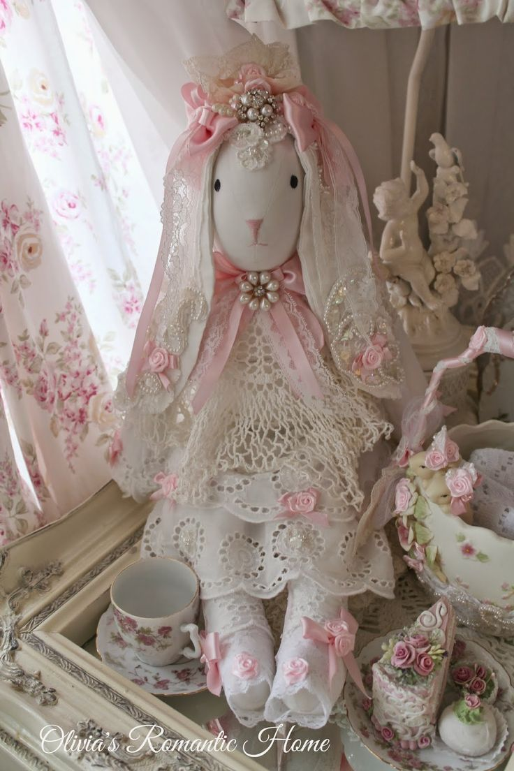 Olivia's Romantic Home: Bunny Tea Party