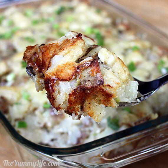 Rustic Twice-Baked Potato Casserole | Recipe | Casserole ...