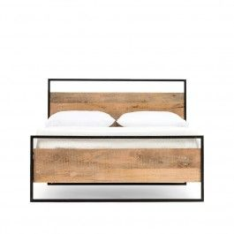 ElementsKing bed Give your bedroom an industrial feel with a bang. The sl...