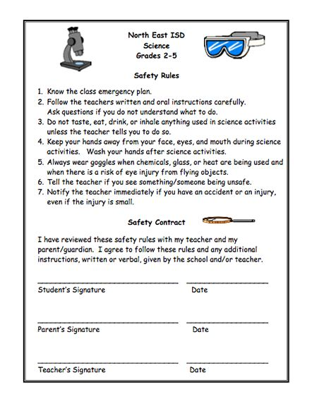 26 best Science Safety/Group Work images on Pinterest