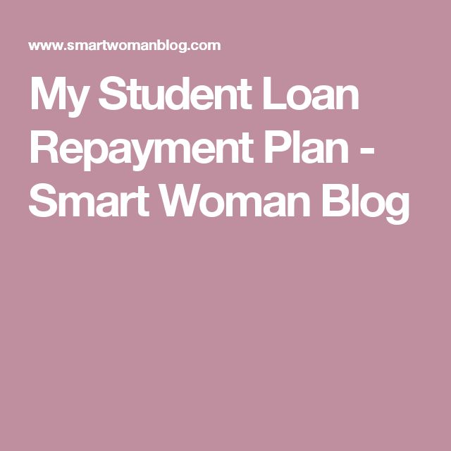 My Student Loan Repayment Plan - Smart Woman Blog