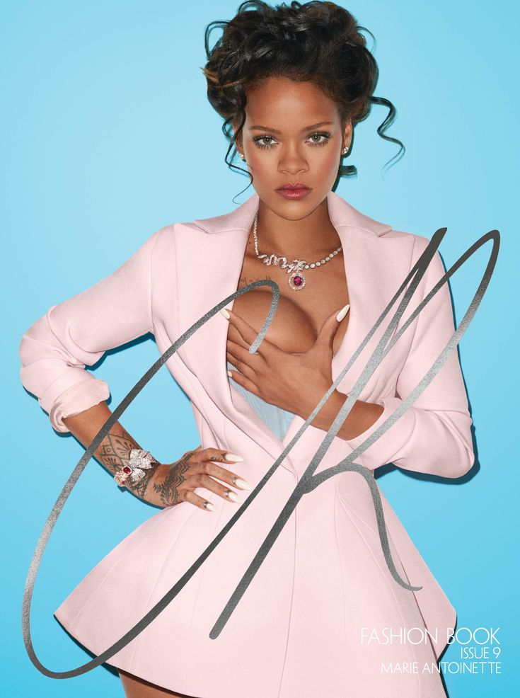 CR Fashion Book - RIHANNA AS MARIE ANTOINETTE ON THE COVER OF CR FASHION BOOK