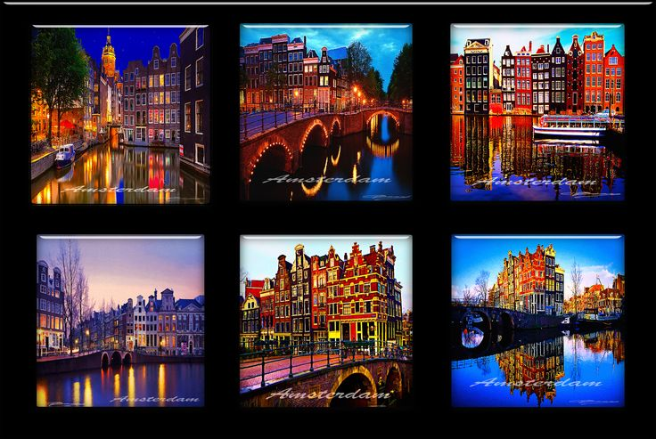Amsterdam on tils by Tonny Baars