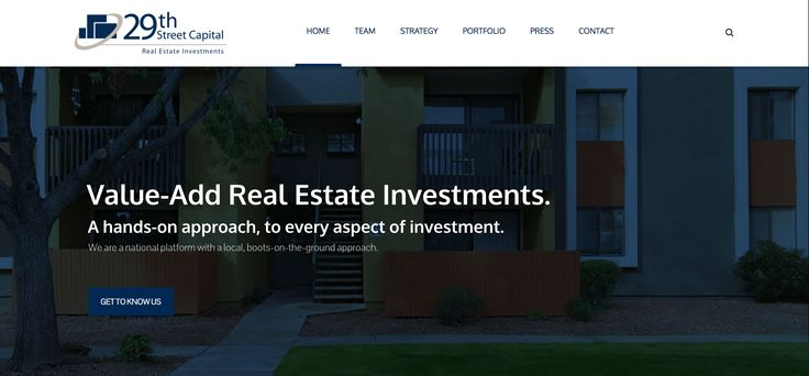 29th Street Capital (29SC) is a privately held real estate investment firm with offices in San Francisco and Chicago.  #webdesign #webdevelopment