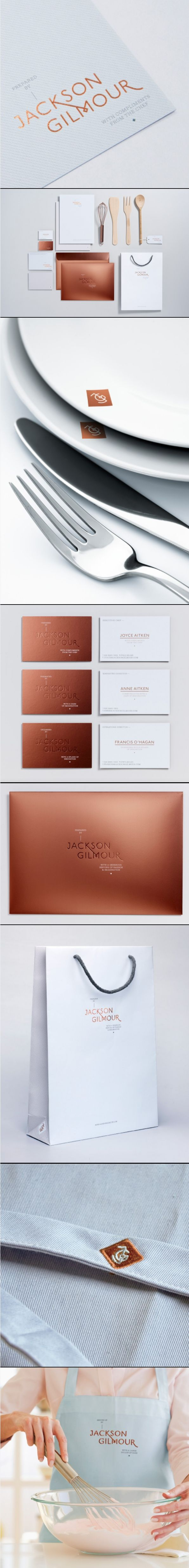 Copper Foil!!!! Love it. Magpie Studio #identity #packaging #branding anybody hungry after seeing this? PD