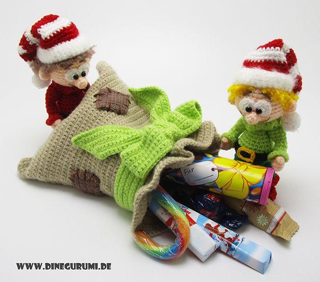 628 besten amigurumi weihnachten bilder auf pinterest. Black Bedroom Furniture Sets. Home Design Ideas