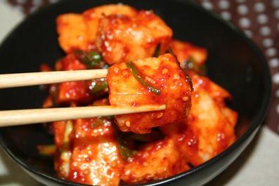 長芋キムチのレシピ -- 体にいい マキムチ。 | 韓国料理店に負けない韓国家庭料理レシピ「眞味」
