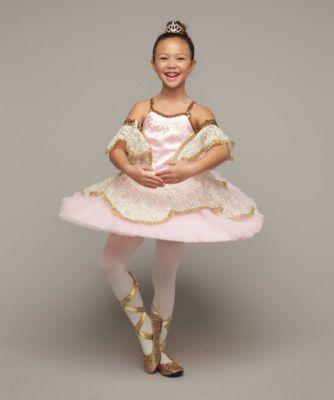 pink prima ballerina costume for girls - Ballet Halloween Costume