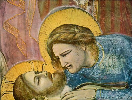 The Lamentation Over the Body of Christ, Giotto di Bondon