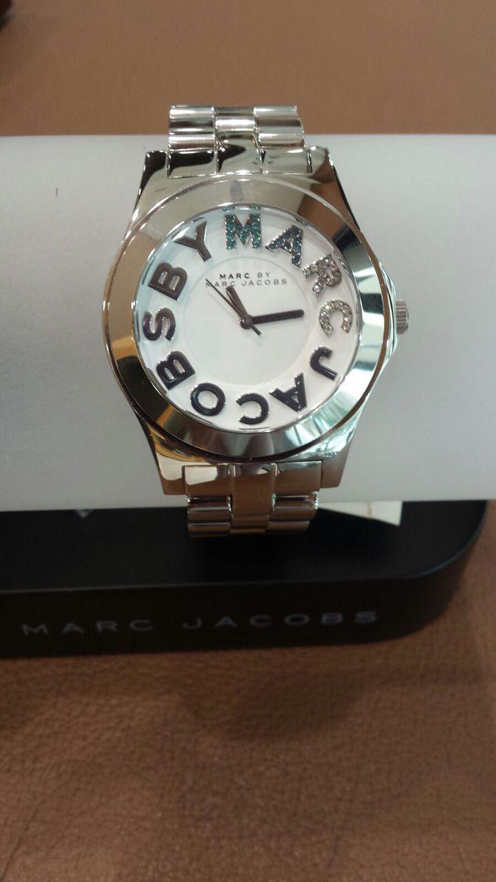 Reloj plata Mark Jacob