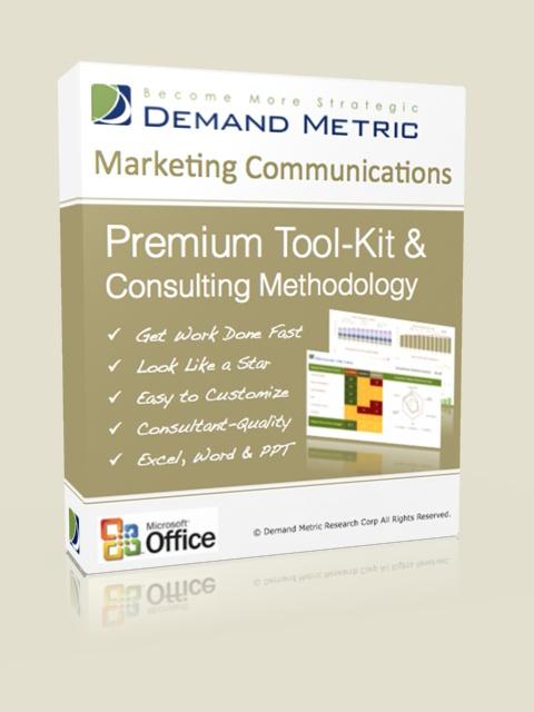 Marketing Communications Plan Methodology & Premium Tool-Kit