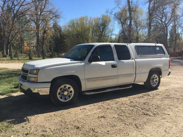 2006 Chevy Silverado with Cap + Hitch (Santa Fe) $9200: QR Code Link to This Post 2006 Chevy Silverado120,000 miles I bought this truck…
