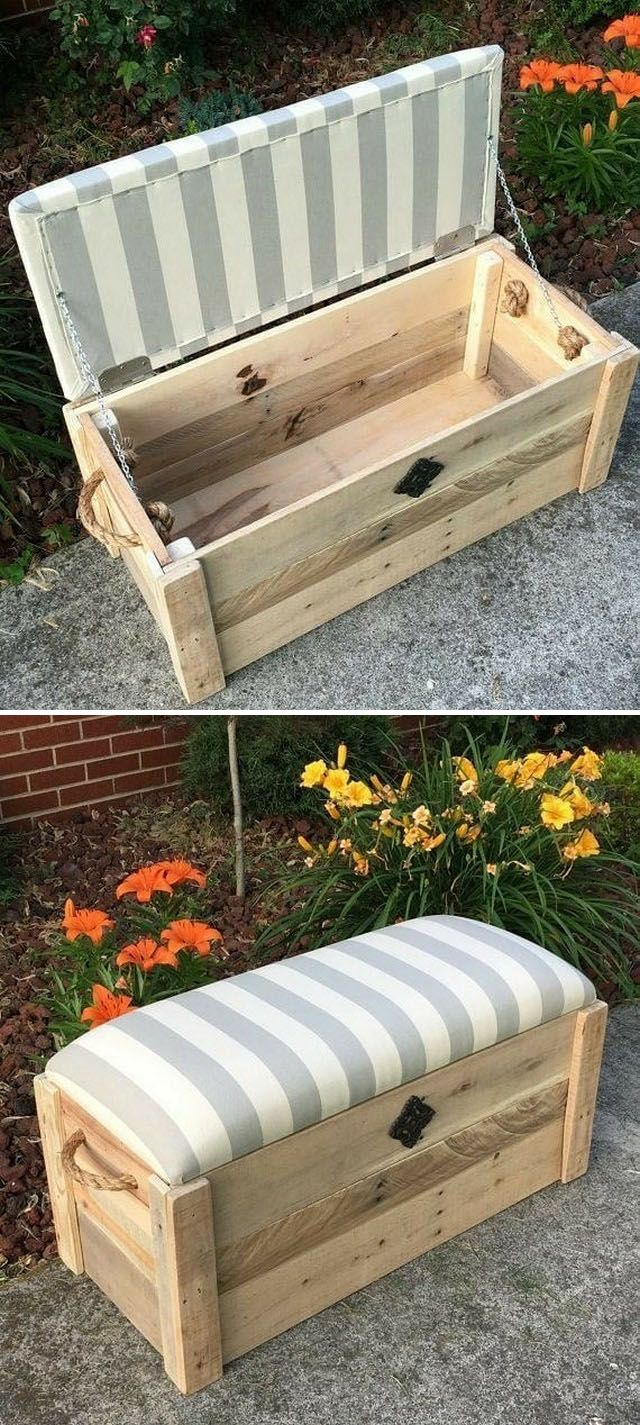 Creative Home Storage Plans With Wooden Pallet Ideas Wooden