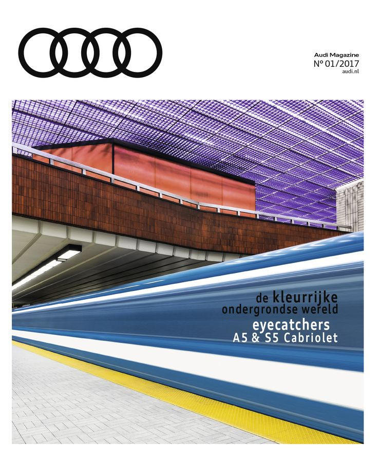 Audi Magazine PON / #1 2017 / HeadOffice.nl / Artdirection