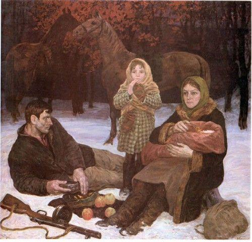 """В.А. Громыко """"Яблоки урожая 1941 года"""""""