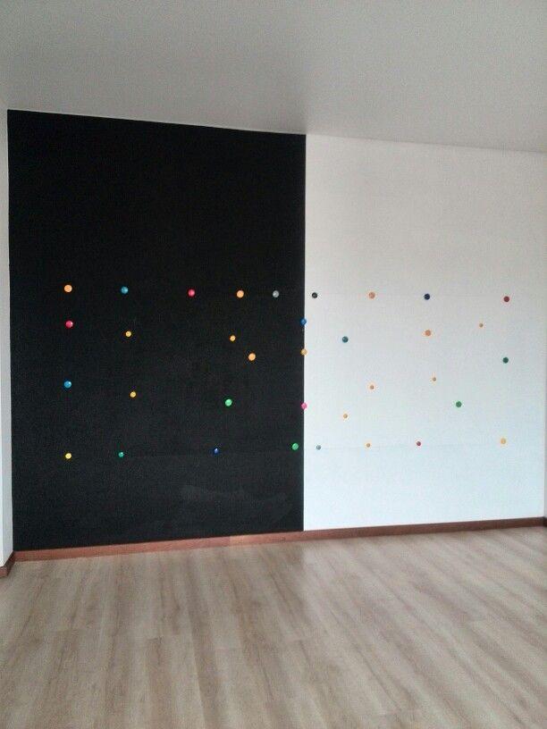 Грифельная магнитная стена