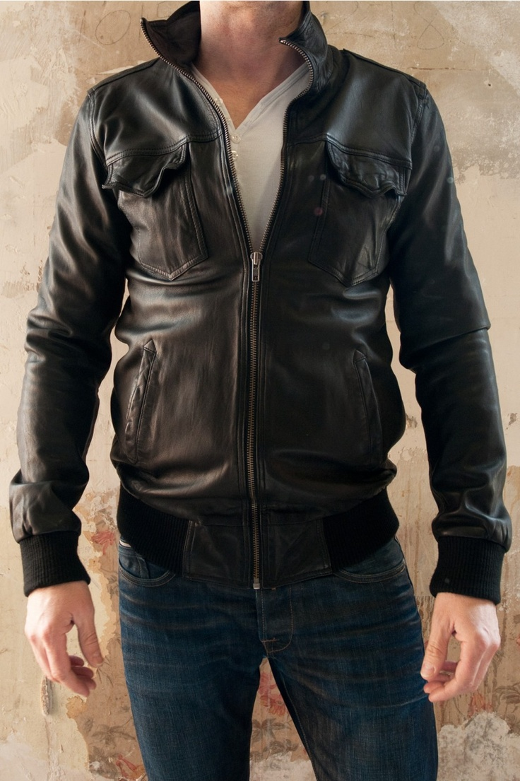 19 best Leather images on Pinterest | Men's leather jackets, Men's ...