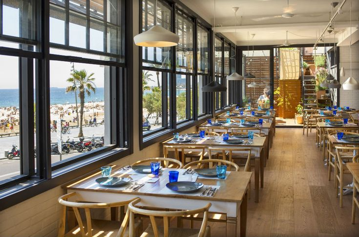 Owned by Tribu Woki, Barraca is a rice restaurant located on Barcelona's beachfront. Michelin star Xavier Pellicer is the chef in charge