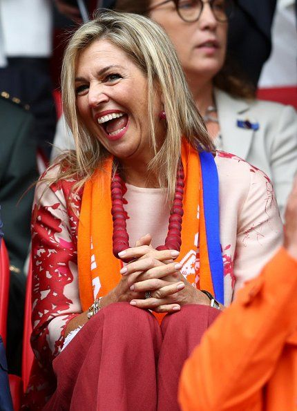 Queen Maxima  watched the UEFA WEURO 2017 (UEFA Women's Euro 2017) Group A match played between Netherlands and Norway at the Galgenwaard Stadium on July 16, 2017