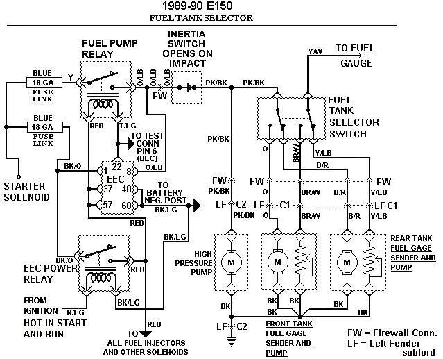 89 Ford F150 Fuel Pump Wiring Diagram : 37 Wiring Diagram