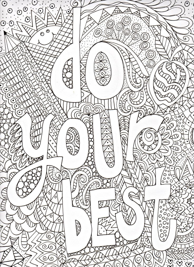 1045 best coloring pages and printables images on Pinterest ...