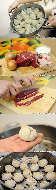 Манты: Лучшая инструкция по приготовлению