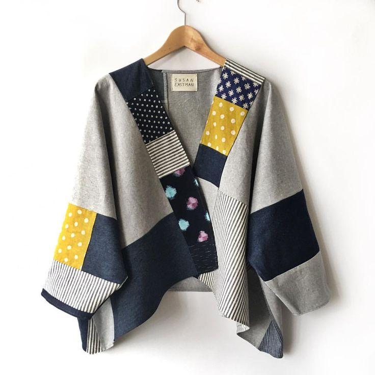 いいね!364件、コメント26件 ― Susan Eastmanさん(@susaneastmanstudio)のInstagramアカウント: 「new coat pattern! asymmetrical / one size, made from hemp-organic cotton + japanese cotton,…」