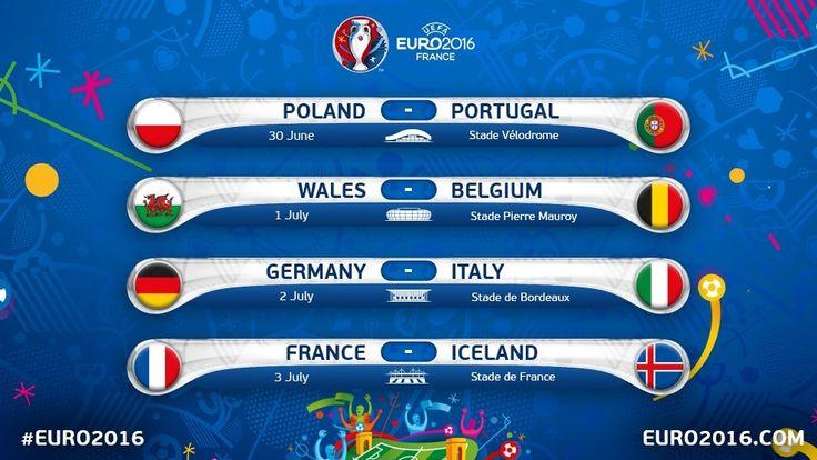Quartas de final! #EURO2016 #GoGermany