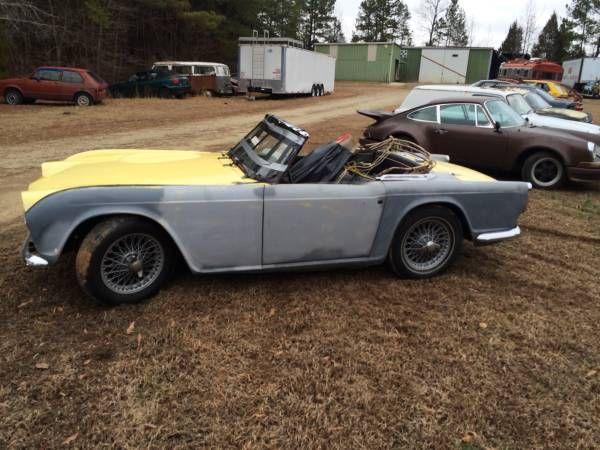 Restoration Project - Triumph TR4 W/ Overdrive - $6,500 ...