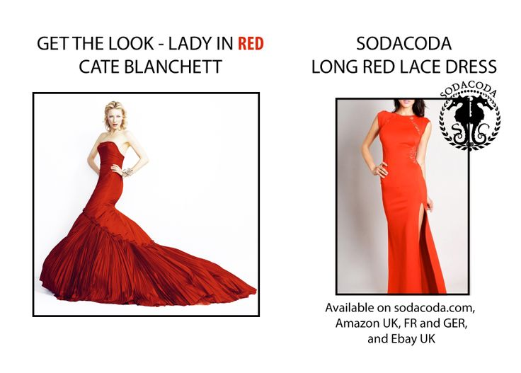 Get the LADY IN RED look inspired by Cate Blanchett! http://bit.ly/1etvlDx