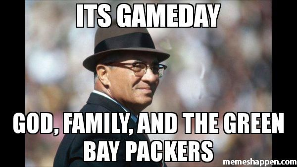 Its gameday:  God, family, and the Green Bay Packers